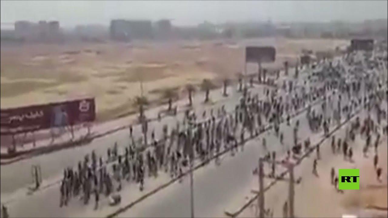 فيديو يوثق اطلاق النار على المتظاهرين في السودان  - نشر قبل 16 ساعة