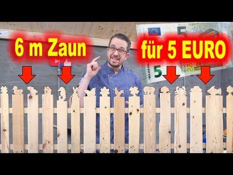 6 Meter Zaun für 5 Euro⎮Kinderzaun⎮Gartenzaun⎮Lattenzaun⎮Zaun aus Paletten⎮Palettenzaun⎮tobiebel #1