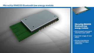 New This Week at Mouser Electronics –Microchip RN4020 Low Energy Bluetooth Module