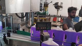 Dolum makinası 2,5 lt yüzey temizleyici