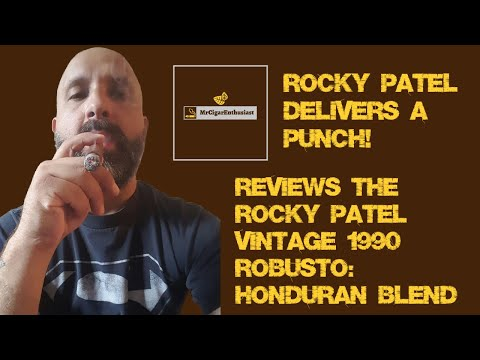 MrCigarEnthusiast Reviews The Rocky Patel Vintage 1990 Robusto - Honduran Blend