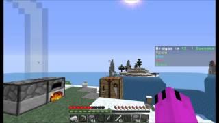 MinePlex BRIDGES W/TwoAverageMCGamers- The Frozen Island
