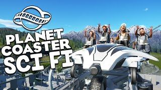 Planet Coaster Beta Gameplay - Robot Factory Coaster! - Let