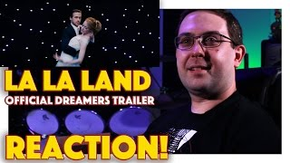 "REACTION! La La Land ""Dreamers"" Trailer - Ryan Gosling Movie 2016"