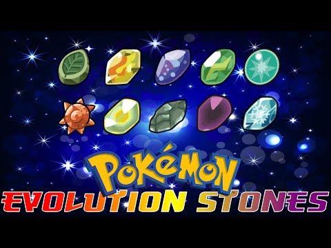 Pokémon That Evolve By Evolutionary Stone