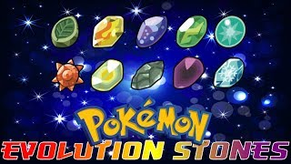 Pokémon That Evolve By Evolutionary Stone