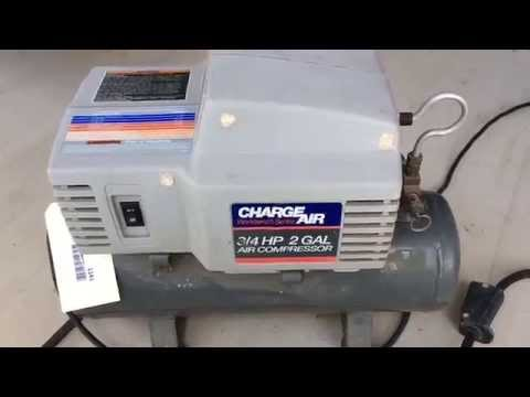 charge air 3 4 hp 2 gallon air compressor for sale sc auctions south