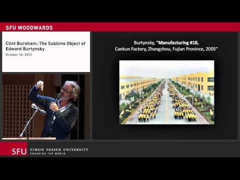 Clint Burnham- The Sublime Object of Edward Burtynsky October 10, 2012