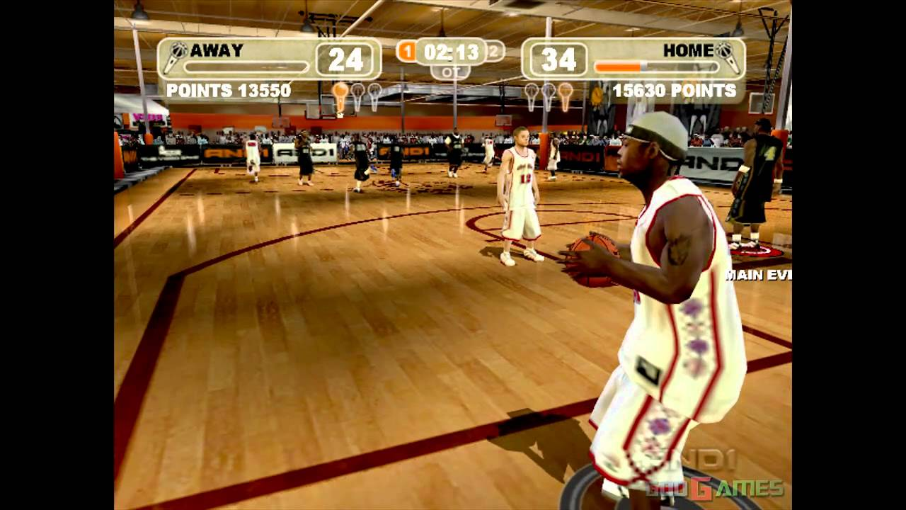 Image result for AND 1 Streetball video game