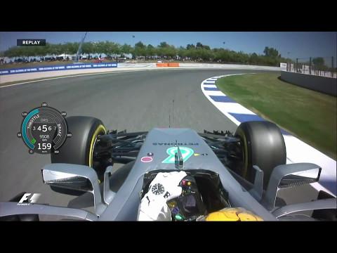 2017 Spanish Grand Prix: Lewis Hamilton Pole Lap