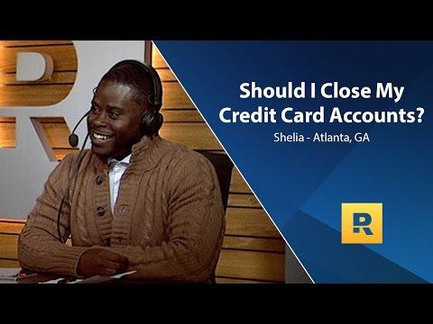 Should I Close My Credit Card Accounts?