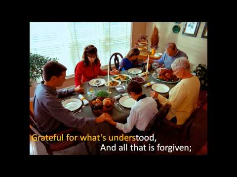 Mary Chapin Carpenter - Thanksgiving Song (with Lyrics)