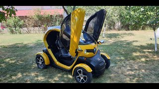 Review Renault Twizy 100% electric car!