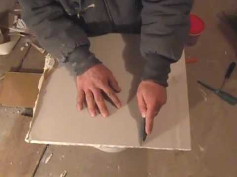 How to repair a hole in sheet rock. Part 1 of 2