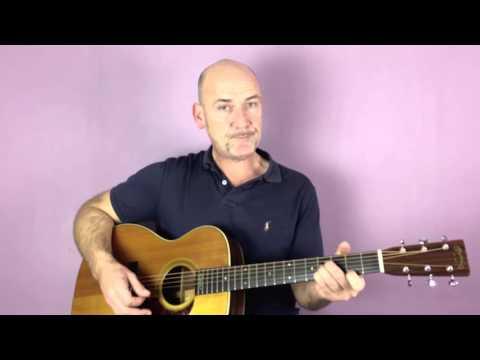 Radiohead - Creep - Guitar lesson by Joe Murphy