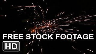 Free Stock Footage! *Sparks Overlay Effect [HD]