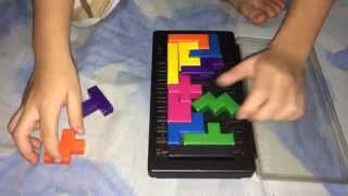 Five 5 Year Old Kid Solves Katamino Puzzle - Tyrell Video