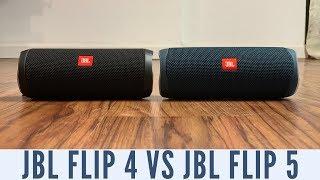 JBL Flip 5 vs JBL Flip 4