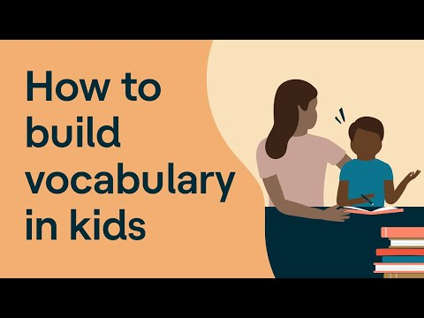 Building Vocabulary for Kids