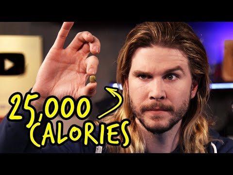 Dragon Ball Z's 25,000-Calorie Diet | Because Science Footnotes