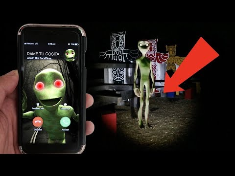 CALLING DAME TU COSITA ON FACETIME AT 3AM | REAL DAME TU COSITA FOUND IN REAL LIFE