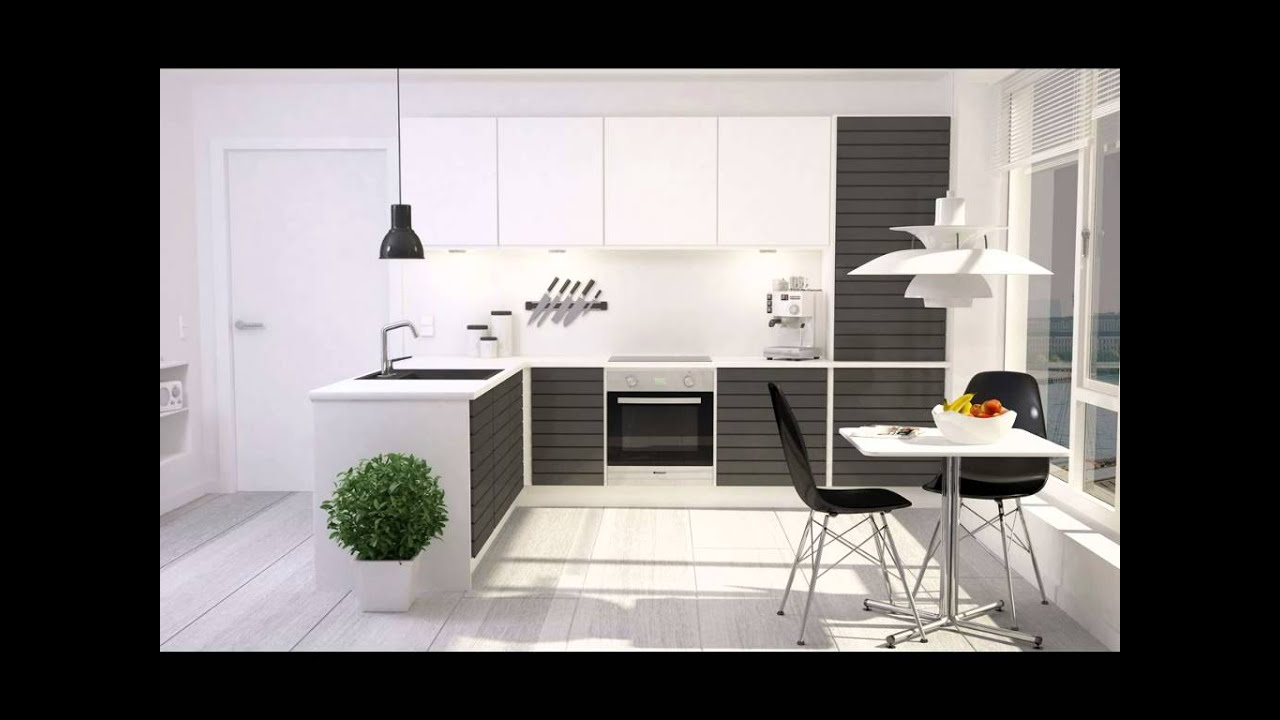 Best beautiful modern kitchen interior design in europe simple elegant stylish youtube - Modern small kitchen decoration ...