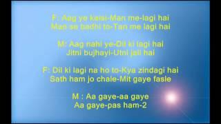 Bekhudi me sanam - Hasina Maan Jayegi - Full Karaoke