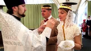 Венчание. Самый лучший день. Сергей и Наталья.  Свадьба Пинск