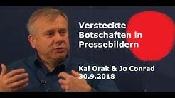 Versteckte Botschaften in Pressebildern - Kai aus Hannover   30.9.2018