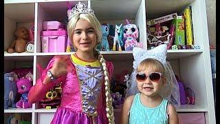 Алиса и Тея весело играют с игрушками ! Pretend play with toys for kids(, 2018-07-21T06:00:02.000Z)