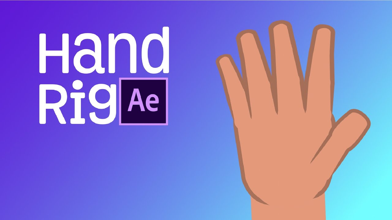 After Effects Tutorial - Hand Rig | Joysticks n' Sliders - Backwoods Animation Studio