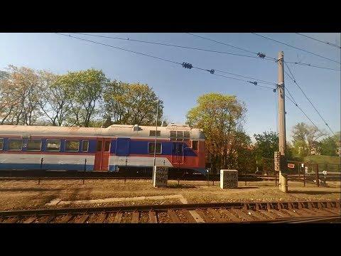Литва из окна поезда. Вильнюс проездом.