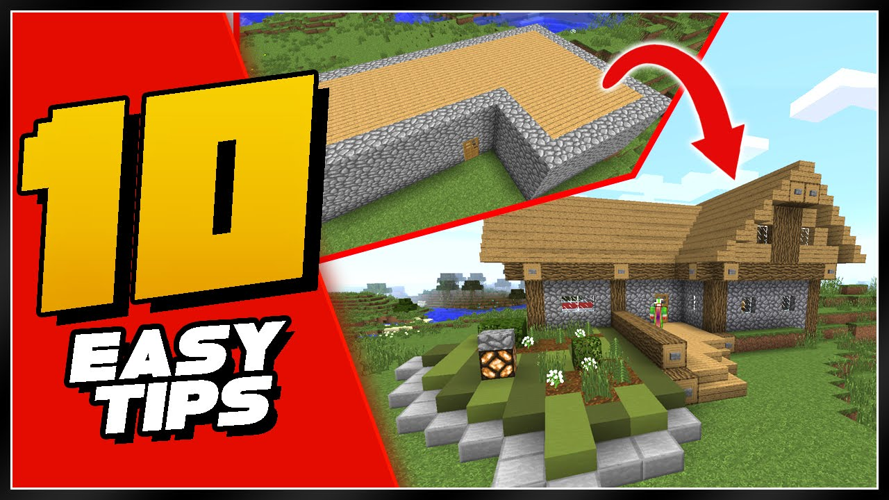 easy steps to improve your minecraft house 10 easy steps to improve your minecraft house