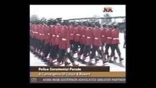 NIGERIA POLICE CEREMONIAL PARADE
