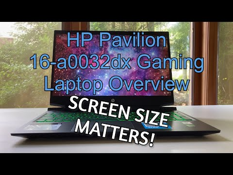 Small Difference, Big Impact! - HP Pavilion 16-a0032dx Gaming Laptop (GTX 1660 Ti) Overview!!