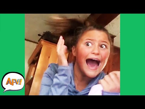 She Got A SISTERLY SCARE! 🤣 | Funniest Fails | AFV 2020