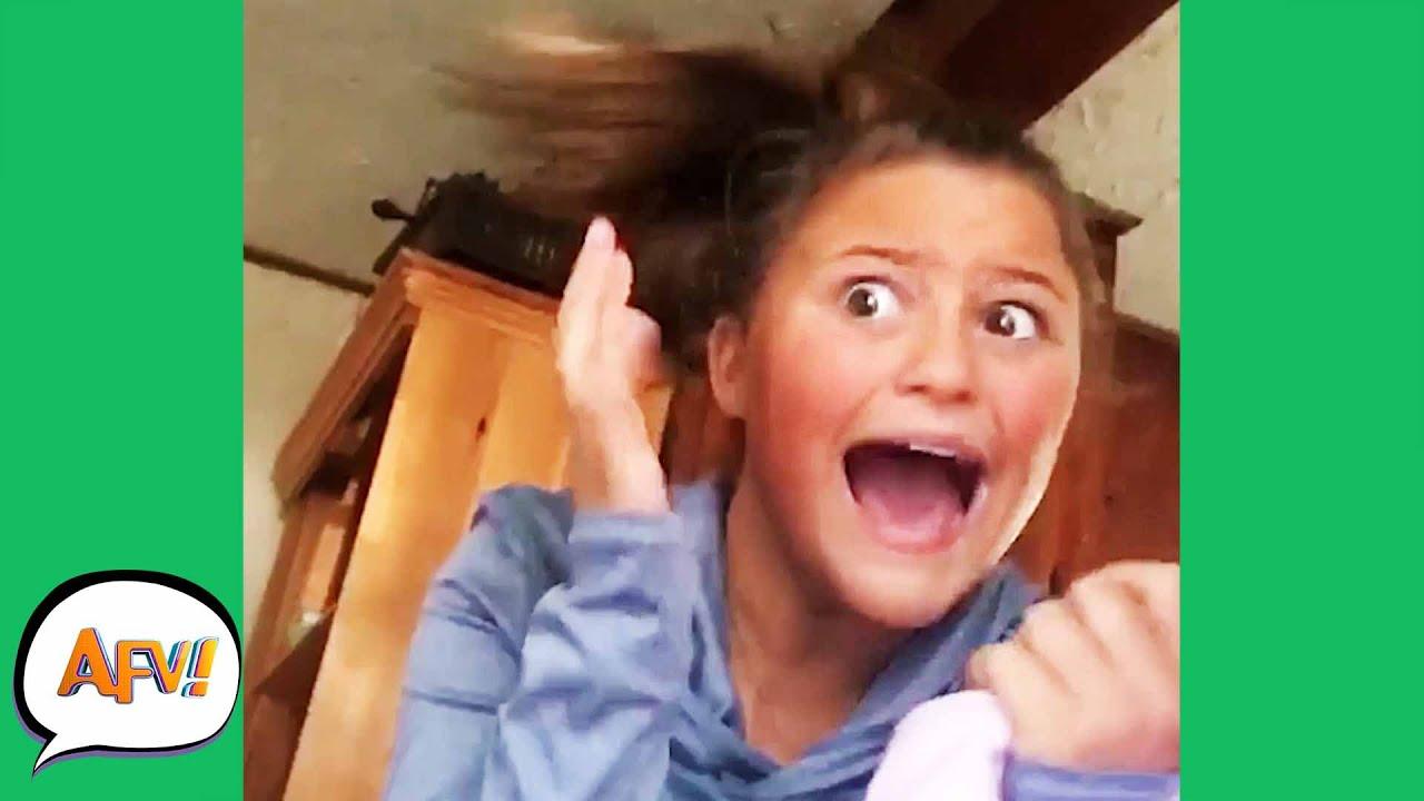 She Got A SISTERLY SCARE! ? | Funniest Fails | AFV 2020