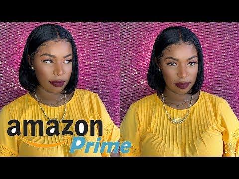 $50 Affordable Bob Lace Front Wig | Amazon Prime Wig | 13x6 Human Hair Wig | Jaja Hair