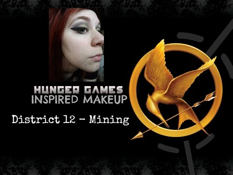 Hunger Games Inspired Makeup - District 12 Mining
