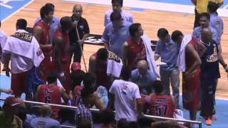 Coach Yeng Explodes | PBA Commissioner's Cup 2015