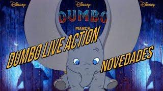 Dumbo Live Action (2019) Noticias de la película de Tim Burton para Disney