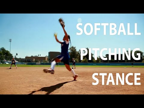 Softball Pitching Stance Tips 🥎 | Little League