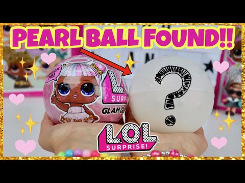 OMG!! We FOUND an ULTRA RARE Doll! LOL Surprise GLAM GLITTER Series! PEARL BALL! Is it KITTY QUEEN?!