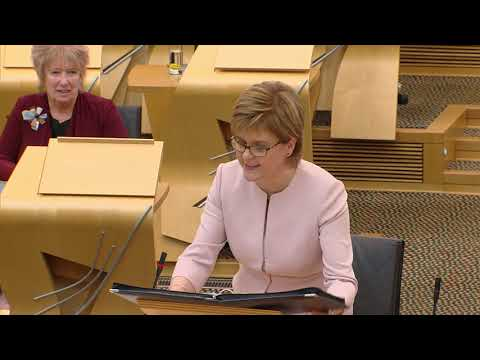 First Minister's Questions - 13 September 2018