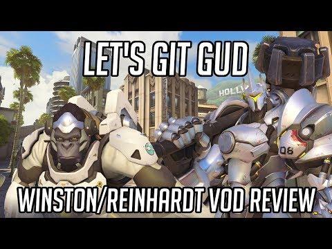 Let's Git Gud | Reinhardt/Winston Gameplay - Guide & Tips