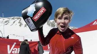 Nici Schmidhofer Speed Ski 217kph run & interview