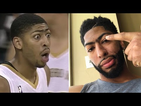 Anthony Davis Funny NBA Moments and Commercials