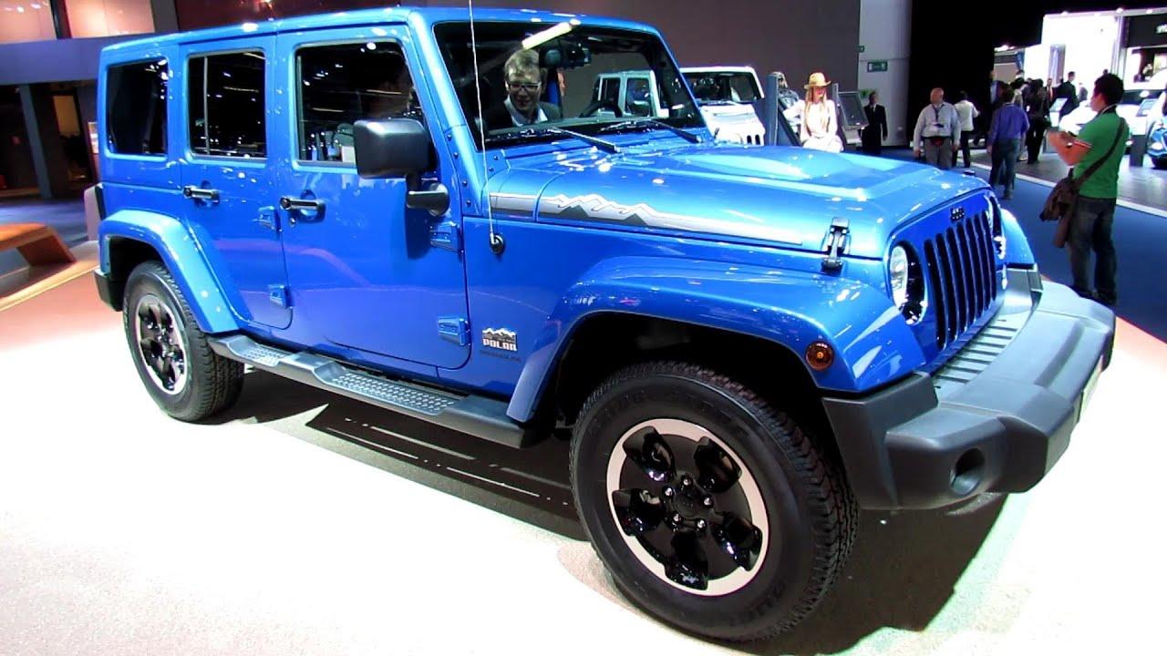 2014 Jeep Wrangler Unlimited Polar Diesel Exterior Interior