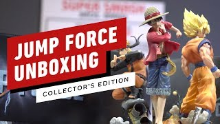 Jump Force Collector's Edition Unboxing
