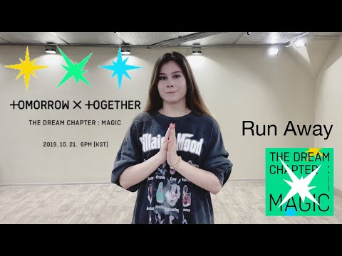 [RUSSIAN DANCE TUTORIAL] TXT - Run Away [KPOP IN RUSSIA]